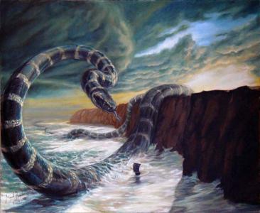 Jormundgand's Shrine: Jormundgand the World Serpent